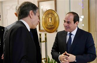 وزير خارجية أمريكا يؤكد اهتمام بلاده بتعزيز العلاقات الاستراتيجية مع مصر