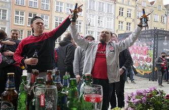 مجموعة من مشجعي مانشستر يونايتد يتعرضون لاعتداء في بولندا قبل نهائي الدوري الأوروبي