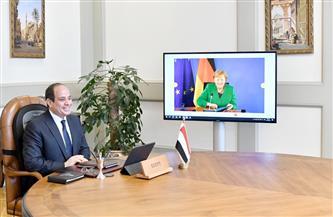 الرئيس السيسي يؤكد حرص مصر على تدعيم الشراكة القائمة مع ألمانيا