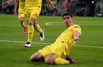 «مورينو» يفتتح التسجيل لفياريال في شباك مانشستر يونايتد بنهائي الدوري الأوروبي