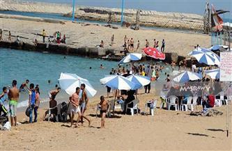 """""""السياحة والمصايف بالإسكندرية"""": نسبة إشغال الشواطئ تراوحت بين 50٪ لـ75٪"""