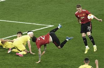 الشوط الإضافي الأول: استمرار التعادل الإيجابي بين فياريال ومانشستر يونايتد بنهائي الدوري الأوروبي