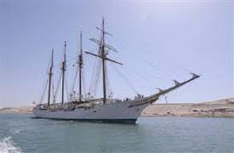 عبور السفينة الإسبانية التاريخية JUAN SEBASTIAN لقناة السويس