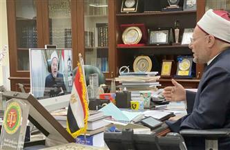 نص كلمة المفتي في المؤتمر التطبيقي الدولي للجامعة المصرية للثقافة الإسلامية بكازاخستان   صور