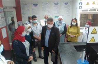 وفد من البرنامج الرئاسي لتأهيل التنفيذيين للقيادة يزور محطة مياه روض الفرج | صور