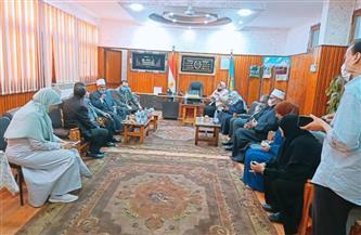 الهيئة القومية لضمان جودة التعليم تزور كلية الدراسات الإسلامية والعربية للبنات بالمنصورة |صور
