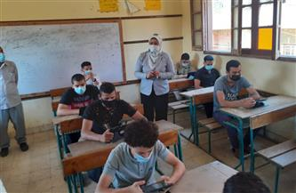 ختام أعمال الامتحان التجريبي الثاني لطلاب الثانوية العامة في يومه الثالث والأخير ببني سويف