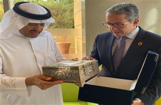 سلطان بن سلمان آل سعود يشيد بالمشروعات القومية المصرية