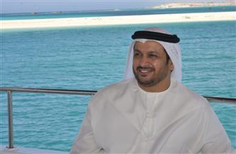 سفير الإمارات في جولة بحرية على شواطئ مطروح ضمن جولته بمزارات مصر | صور