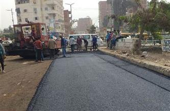 محافظ الشرقية يُتابع نسب تنفيذ رصف الشوارع بفاقوس بتكلفة ٥ ملايين جنيه | صور