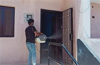 استمرار أعمال تطهير وتعقيم المصالح الحكومية بمدينة رأس غارب | صور