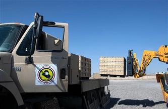 القوات العراقية تتسلم ذخيرة وأسلحة من التحالف الدولي