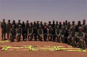 انطلاق فعاليات التدريب المشترك «حماة النيل» بالسودان | فيديو وصور