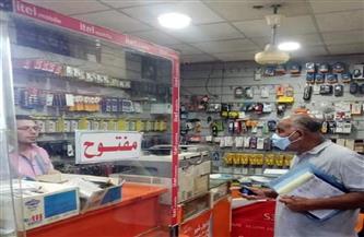 تحرير 14 مخالفة عدم الالتزام بالإجراءات الاحترازية بحي شمال الغردقة | صور