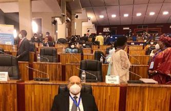 مؤتمر رؤساء البرلمانات الإفريقية يشيد بجهود مصر لصالح إفريقيا في مختلف القضايا