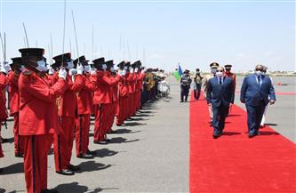 الرئيس السيسي: اتفقنا على التعاون لدعم الأمن والاستقرار والعمل لتجنب امتداد نطاق بعض النزاعات إلى دول الجوار