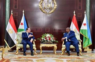 أبرز تصريحات الرئيس السيسي خلال زيارته جيبوتي | إنفوجراف