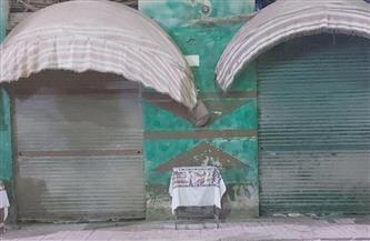 غلق 4 منشآت خالف أصحابها الإجراءات الاحترازية في حي الجمرك بالإسكندرية