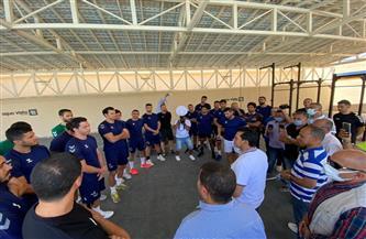 وزير الرياضة يلتقي منتخب اليد في معسكره التدريبى بالغردقة