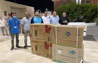 تحالف نواب البحر الأحمر يتبرعون بعدد من أجهزة التكييف لمستشفى سفاجا المركزي