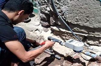 توصيل مياه الشرب لعدد من الأسر الأكثر احتياجا بمنشأة أبو عمر في الشرقية| صور