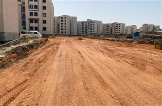 محافظ بورسعيد: استمرار رصف الطرق بمشروعات الإسكان الجارية في بورفؤاد  صور