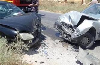 مصرع شخصين وإصابة 3 آخرين في حادث تصادم بالكيلو 45 على طريق «سيوة - مطروح»