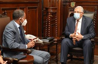 وزير الزراعة يستقبل مدير برنامج الغذاء العالمي في نهاية فترة عمله بالقاهرة