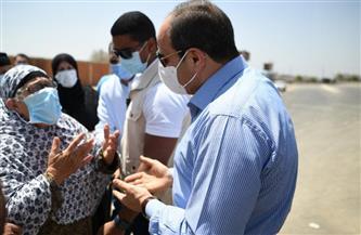 الصحة: نقل سيدة التقاها الرئيس السيسي خلال جولته اليوم لتلقي العلاج بمستشفى معهد ناصر على نفقة الدولة