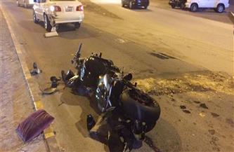 إصابة شابين بكسور في حادث تصادم سيارة بدراجة نارية في بورسعيد
