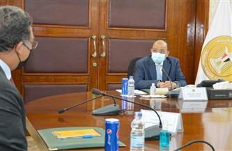 شعراوي يتابع مع مسئولي البنك الدولي آخر مستجدات التعاون في مجال المخلفات الصلبة وتحسين جودة الهواء صور