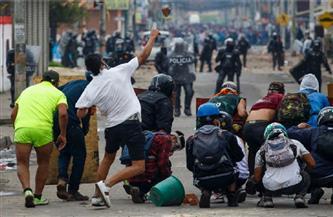 تعليق المحادثات بين المحتجين والحكومة في كولومبيا
