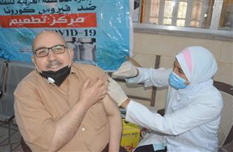 تطعيم 800 من قضاة طنطا وأهالي 3 قرى بالمحلة بلقاح كورونا| صور