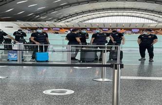 بعثة الأهلي تغادر مطار الدوحة إلى القاهرة بعد الفوز بالسوبر الإفريقي