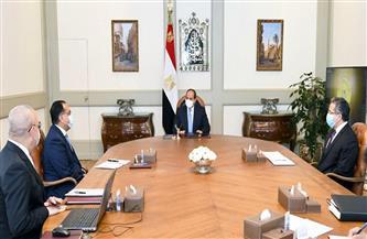 الرئيس السيسي يطلع على الخطوات التنفيذية للمتحف المصري الكبير وتطوير طريق الكباش بالأقصر