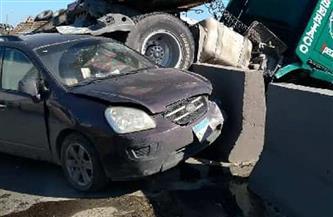 إصابة مدير مرور أسوان في حادث تصادم