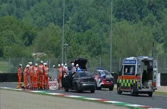إصابة السويسري دوباسكوير في حادث تصادم خلال سباق للموتو جي بي