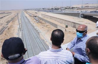 بالتفاصيل.. جولة وزير النقل لتفقد مشروعات القطار الكهربائي ومونوريل العاصمة الإدارية | صور