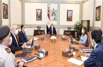الرئيس السيسي يتابع خطة الدولة الإستراتيجية في مجال محطات تحلية مياه البحر