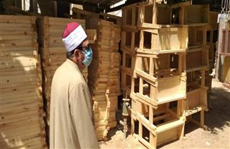 رئيس منطقة المنوفية الأزهرية يتفقد قسم الصيانة | صور
