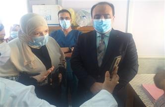 محافظ بورسعيد: بدء العمل بوحدة الدعم النفسي لمرضى كورونا داخل مستشفى الحميات