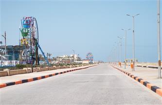 شواطئ بلطيم ومطوبس وبحيرة البرلس بكفر الشيخ خالية من المواطنين في شم النسيم | صور