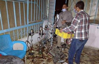 إغلاق 10 مقاهٍ مخالفة في شرق مدينة نصر