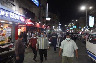 تحرير 26 محضر إشغالات وتعديات على الطريق العام بمدينة الأقصر | صور