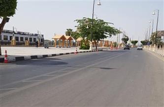 شوارع الأقصر خالية من المواطنين وعدم وجود أي مظاهر للاحتفال |صور