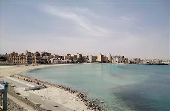 شواطئ مرسى مطروح خالية في شم النسيم | صور