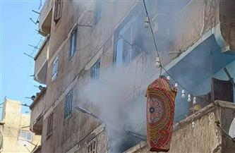 """إصابة سيدة وطفليها في حريق بشقة بـ""""العجمي"""" غربي الإسكندرية   صور"""