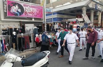 نائب محافظ بورسعيد يترأس حملة مكبرة للتأكد من تطبيق الإجراءات الاحترازية | صور