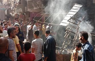 مصرع 4 أشخاص وإصابة آخر في حريق شب بمخبز بدار السلام