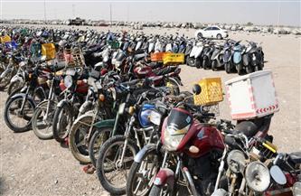 ضبط 680 دراجة نارية مخالفة في حملة أمنية